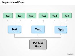 0414 Organizational Chart In PowerPoint Presentation