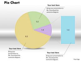 0414 Pie Chart Businesss Growth Design Powerpoint Graph