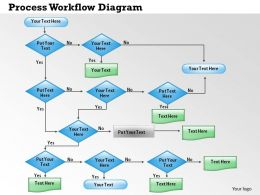 0414 Process Workflow Diagram Powerpoint Presentation