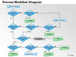0414 Process Workflow Diagram Powerpoint Presentation