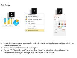 0414 Project Progress With Column And Pie Chart Powerpoint Graph