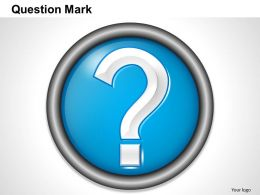 0414 Question Mark Template Powerpoint Presentation