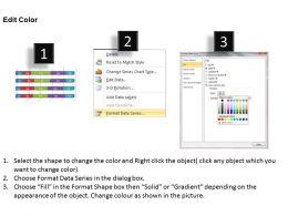0414 Slider Bar Chart For Visual Analysis Powerpoint Graph