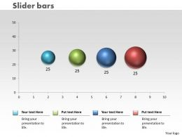 0414 Slider Bubble Chart Business Data Diagram Powerpoint Graph