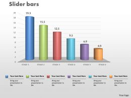 0414 Slider Column Chart Data Series Powerpoint Graph