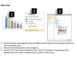 0414 Slider Column Chart Data Series Powerpoint Graph
