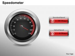 0414 Speedometer Powerpoint Presentation