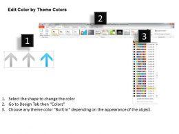 0414 Three Financial Result Arrows Diagram