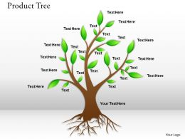 0414 Tree Powerpoint Presentation