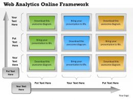 0414 Web Analytics Online Framework Powerpoint
