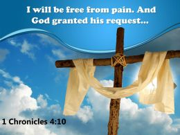 0514 1 Chronicles 410 I Will Be Free From Powerpoint Church Sermon