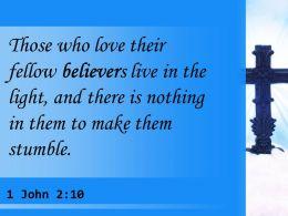 0514 1 John 210 Those who love their fellow believers PowerPoint Church Sermon