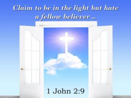 0514 1 John 29 Claim To Be In The Light Powerpoint Church Sermon