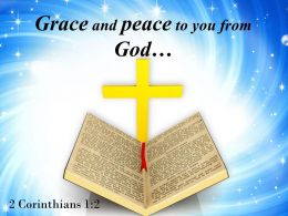 0514 2 Corinthians 12 Peace To You From God Powerpoint Church Sermon
