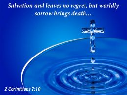 0514 2 Corinthians 710 Salvation And Leaves No Powerpoint Church Sermon