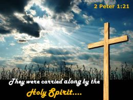 0514 2 Peter 121 They Were Carried Along Powerpoint Church Sermon
