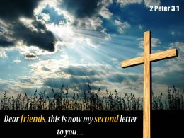 0514 2 Peter 31 My Second Letter To You Powerpoint Church Sermon