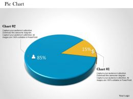 0514 2 Staged Data Driven Pie Chart Powerpoint Slides