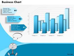 0514 3d Bar Graph Data Driven Business Chart Diagram Powerpoint Slides