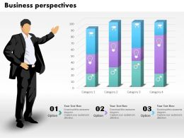 0514 3d Business Prospective Data Driven Chat Powerpoint Slides