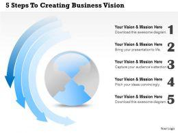 19927377 Style Essentials 1 Our Vision 1 Piece Powerpoint Presentation Diagram Infographic Slide