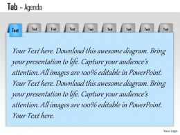 0514 9 Staged Linear Text Boxes For Agenda