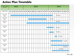 0514 Action Plan Timetable Powerpoint Presentation