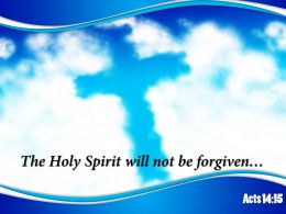 0514 Acts 1415 The Holy Spirit Will Powerpoint Church Sermon