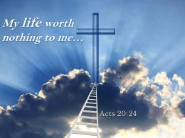 0514 Acts 2024 My Life Worth Nothing To Me Powerpoint Church Sermon