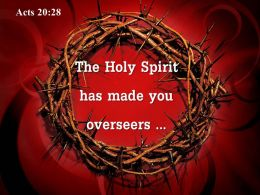 0514 Acts 2028 The Holy Spirit has made PowerPoint Church Sermon