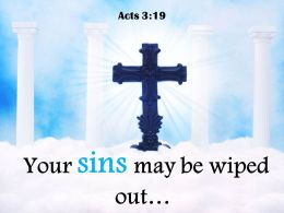 0514 Acts 319 Your Sins May Be Wiped Powerpoint Church Sermon