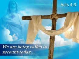 0514 Acts 49 We Are Being Called To Account PowerPoint Church Sermon