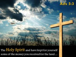 0514 Acts 53 The Holy Spirit And Have Kept Powerpoint Church Sermon