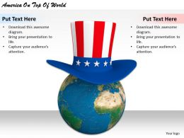 0514 America On Top Of World Image Graphics For Powerpoint
