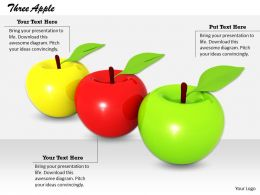 0514 Apple Is Good For Health Image Graphics For Powerpoint