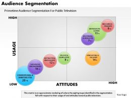 0514 Audience Segmentation Powerpoint Presentation