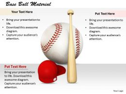 0514 Baseball Material Image Graphics For Powerpoint