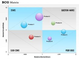 0514 BCG Matrix Powerpoint Presentation