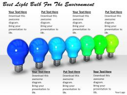 0514 Best Light Bulb For The Environment Image Graphics For Powerpoint
