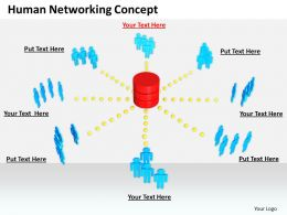 0514 Build A Human Network Image Graphics For Powerpoint