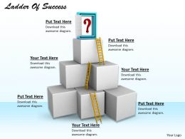 0514 Build A Ladder Of Success Image Graphics For Powerpoint