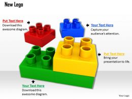 0514 Build Steps With Lego Blocks Image Graphics For Powerpoint