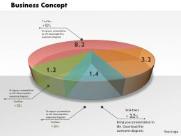 0514 Business Concept Professional Data Driven Diagram Powerpoint Slides