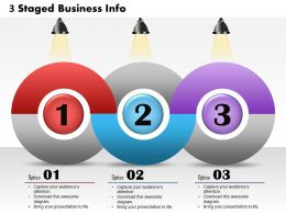 0514 Business Consulting Diagram 3 Staged Business InfoGraphics Powerpoint Slide Template