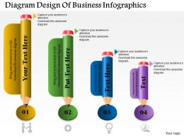 0514 Business Consulting Diagram Design Of Business Infographics PowerPoint Slide Template
