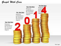 0514 Business Growth In 2014 Image Graphics For Powerpoint