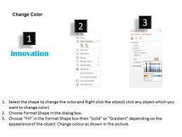 0514 Business Innovation Word Cloud Powerpoint Slide Template
