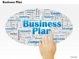 0514 Business Plan PowerPoint Slide Template