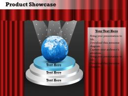 0514 Business Product Showcase Portfolio Diagram