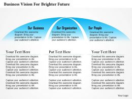 0514 Business Vision For Brighter Future